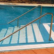 Nerezové zábradlie do bazéna
