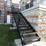 Oceľové schodisko